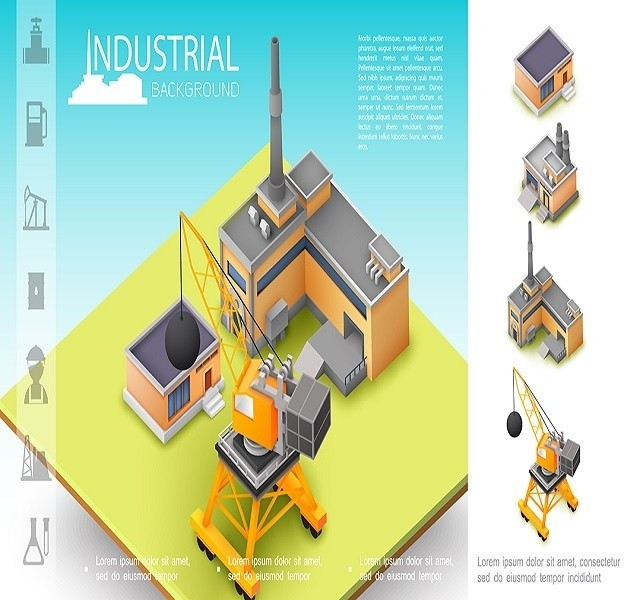 industrial manufacturing warehouse and industry -state tech